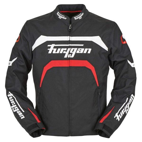Giacche moto Furygan Arrow Black White Red