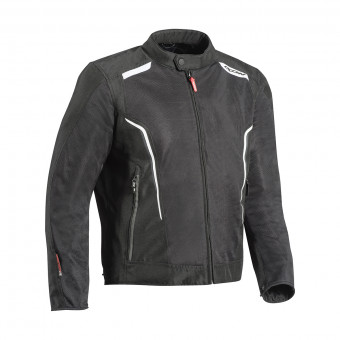 Giacche moto Ixon Cool Air Black White