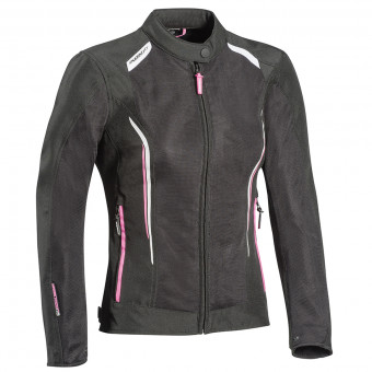 Giacche moto Ixon Cool Air Lady Black White Pink