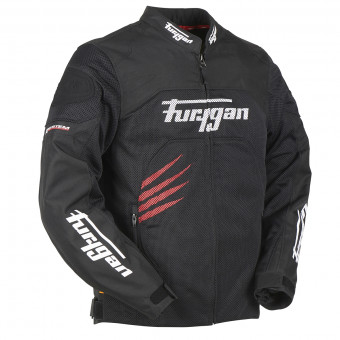 Giacche moto Furygan Rock Vented Black Red