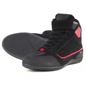 Sneakers Moto V'Quattro GP4 Waterproof Black Red