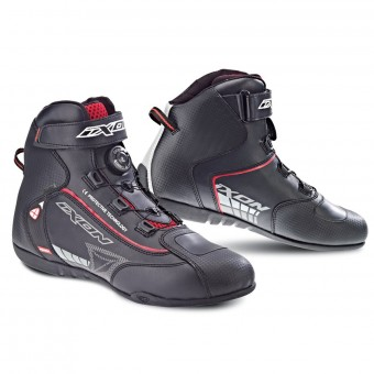Sneakers Moto Ixon Soldier Evo Black Red