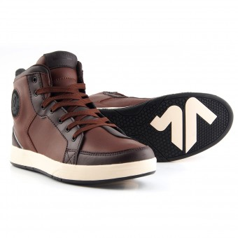 Sneakers Moto V'Quattro Twin Brown Beige
