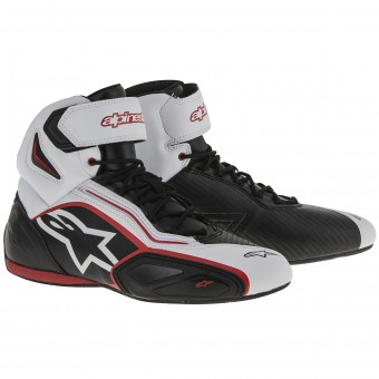 Sneakers Moto Alpinestars Faster 2 Black White