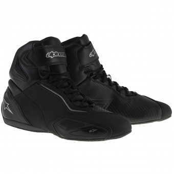Sneakers Moto Alpinestars Faster 2 Waterproof Black Gun Metal