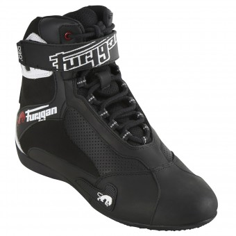 Sneakers Moto Furygan Fast Air D3O Black White