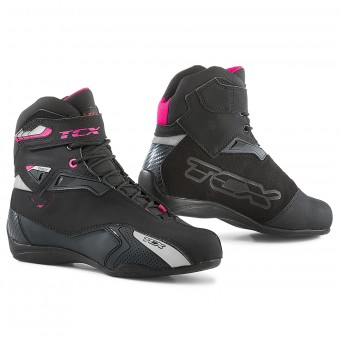 Sneakers Moto TCX Rush Lady Waterproof Nero Fucsia
