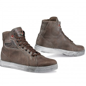 Sneakers Moto TCX Street Ace Waterproof Coffee Brown
