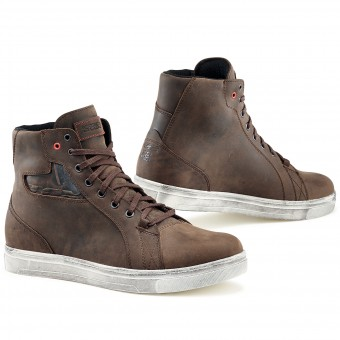 Sneakers Moto TCX Street Ace Waterproof Dakar Brown