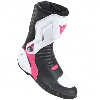 Stivali Moto Dainese Nexus Lady Black White Fuschia