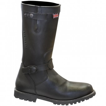 Stivali Moto Merlin Brocton Lady Black Boots
