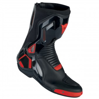 Stivali Moto Dainese Course D1 Out Black Fluo Red