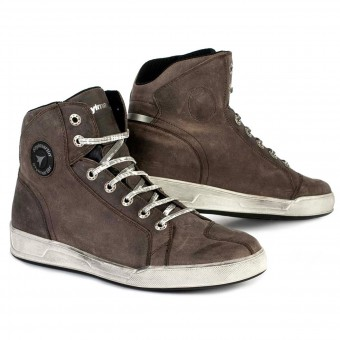 Sneakers Moto Stylmartin Marshall Taupe Vintage