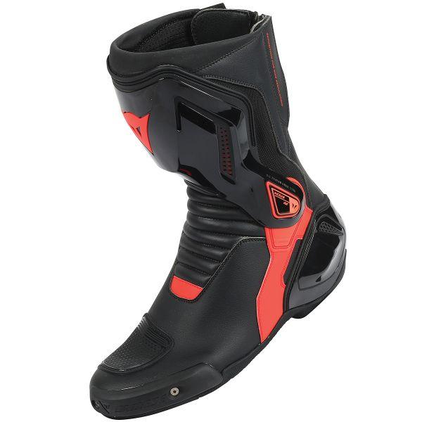 Stivali Moto Dainese Nexus Black Red Fluo