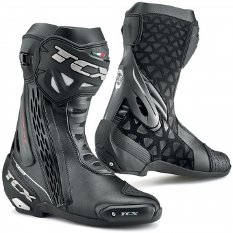 Stivali Moto TCX RT-Race Waterproof Black