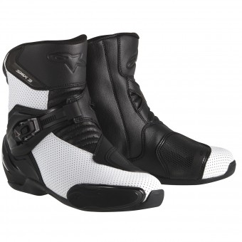 Stivaletti Alpinestars S-MX 3 Black White Vented