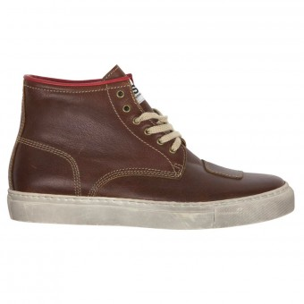 Scarpe Moto Helstons C5 Leather Fauve