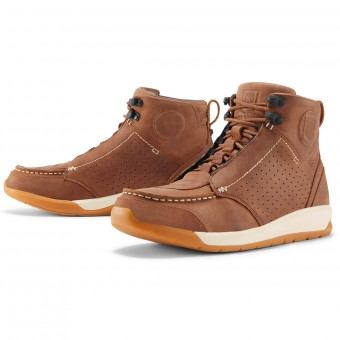 Scarpe Moto ICON Truant 2 Brown