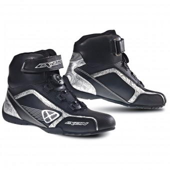 Sneakers Moto Ixon Assault Lady Nero Argento