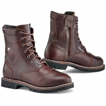 Scarpe Moto TCX Hero Waterproof Vintage Brown