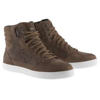 Sneakers Moto Alpinestars J-6 Waterproof Brown
