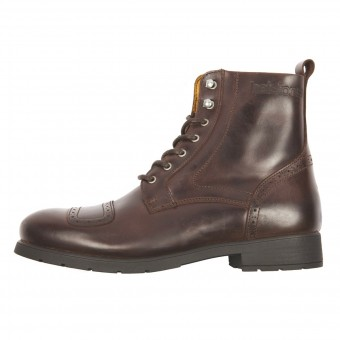 Scarpe Moto Helstons Travel Leather Brown