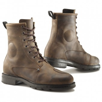 Scarpe Moto TCX X-Blend Waterproof Vintage Brown