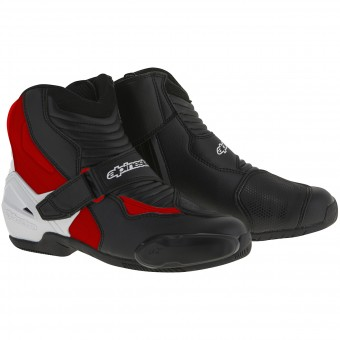 Stivaletti Alpinestars SMX-1 R Black White Red