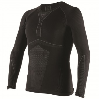 Maglia Intima Riscaldata Dainese D-Core Dry Tee LS Black Anthracite