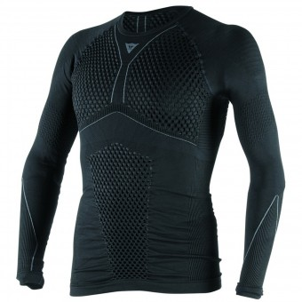 Maglia Intima Riscaldata Dainese D-Core Thermo Tee LS Black Anthracite
