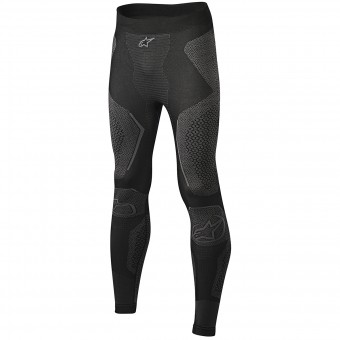 Pantalone Intimo Riscaldato Alpinestars Ride Tech Bottom Winter Black Grey