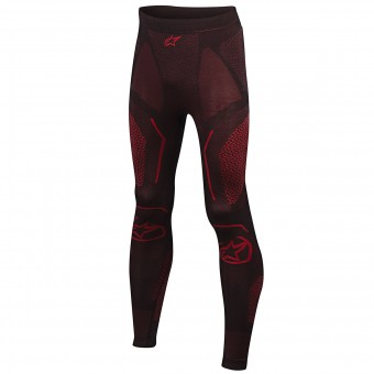 Pantalone Intimo Riscaldato Alpinestars Ride Tech Bottom Winter Black Red