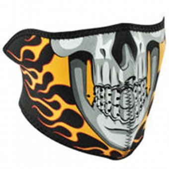 Scaldacollo Moto Zanheadgear Burning Skull