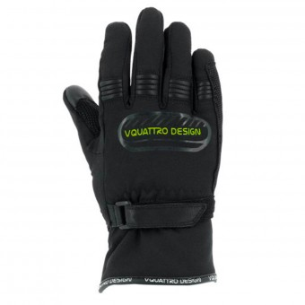 Guanti moto V'Quattro Core 17 Kid Black Green