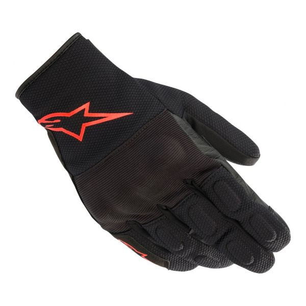 Guanti moto Alpinestars S Max Drystar Black Red Fluo