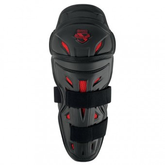 Ginocchiere Moto ICON Stryker Knee Armor Black