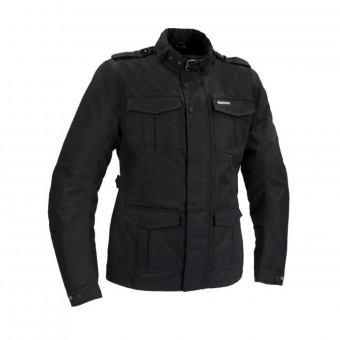 Giacche Moto Lunghe Bering Norris Black