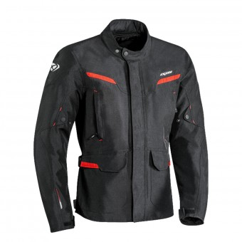 Giacche Moto Lunghe Ixon Summit 2 Black Red