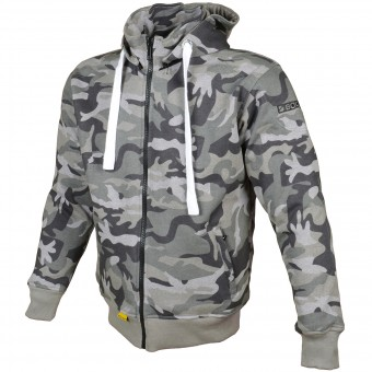 Giacche moto Booster Hoodie Kevlar Core Dark Camo