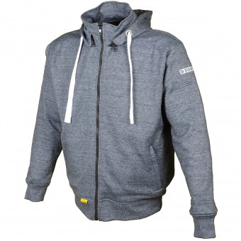 Giacche moto Booster Hoodie Kevlar Core Navy Blue