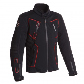Giacche Moto Lunghe Bering Skan Black Red