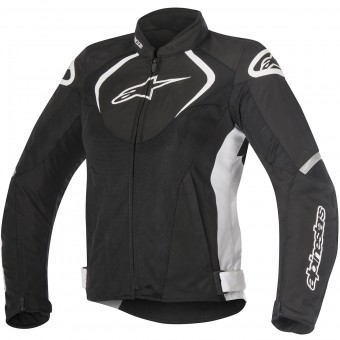 Giacche moto Alpinestars Stella T-Jaws V2 Air Black White