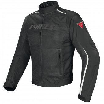 Giacche moto Dainese Hydra Flux D-Dry Black White