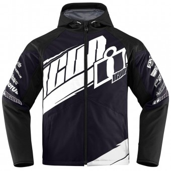 Giacche moto ICON Team Merc Black