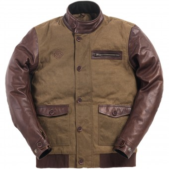 Giacche moto Ride & Sons Varsity Army Brown