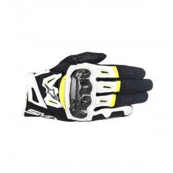 Guanti moto Alpinestars SMX-2 Air Carbon V2 Yellow Fluo
