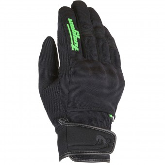 Guanti moto Furygan Jet Evo Kid Black Green Fluo