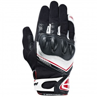 Guanti moto Ixon RS Drift Black White Red