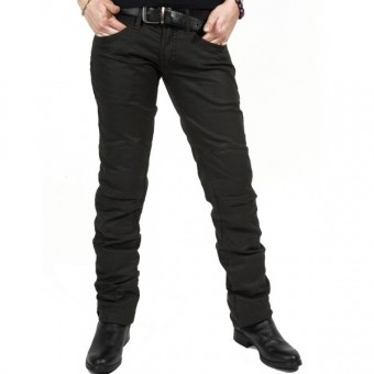 Jeans moto Esquad Chilo?´ Black Brown Waxed