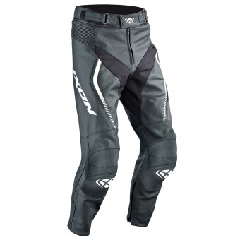 Pantalone moto Ixon Fighter Pant Black White
